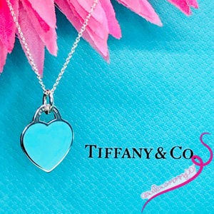 NWOT Return to Tiffany Blue/Sterling Heart Pendant